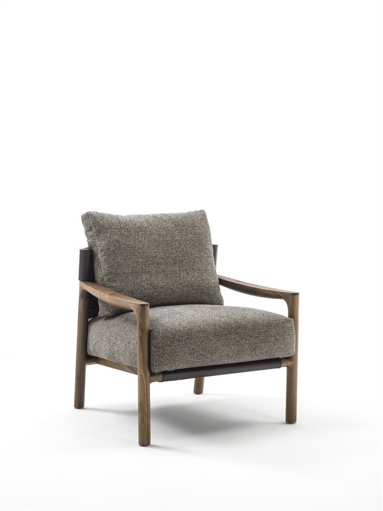 Vera Arm Chair lounge from Porada, designed by Gabriele & Oscar Buratti