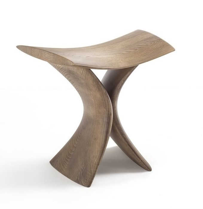 Torii Stool  from Porada, designed by Gino Carollo