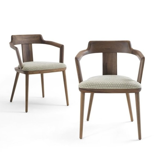 Tilly Chair from Porada, designed by C. Ballabio