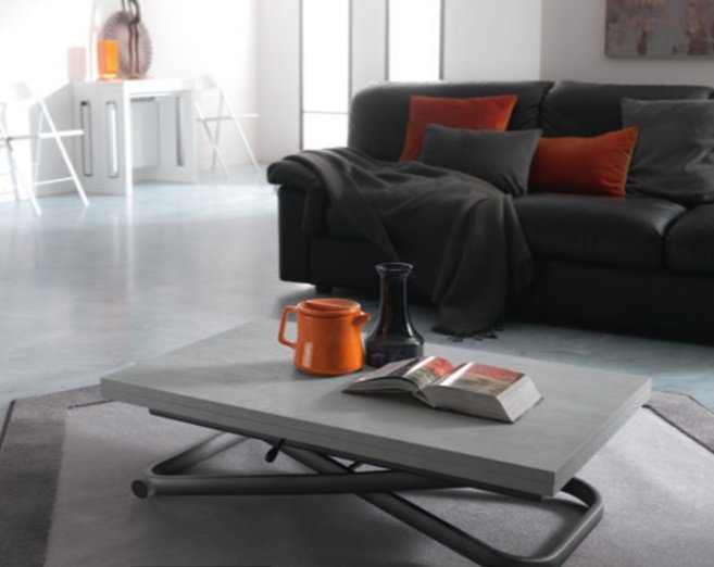 Second Transformable Coffee Table from Easyline