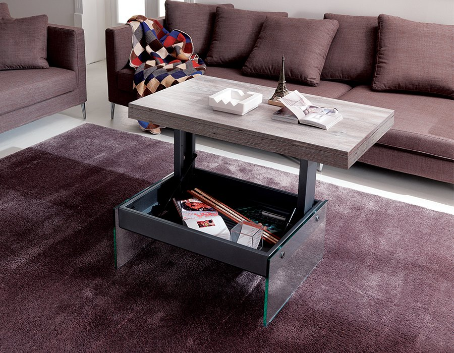 Lugano Transformable Coffee Table from Easyline