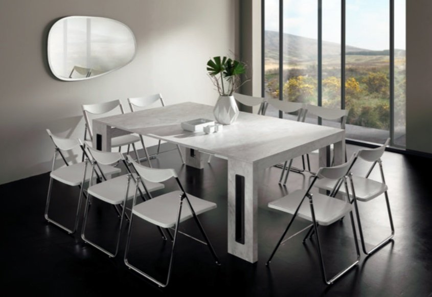 Mega Extendable Consoles, table from Easyline