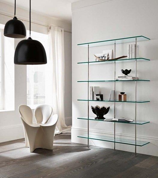 Trasparenza bookcase from Tonelli