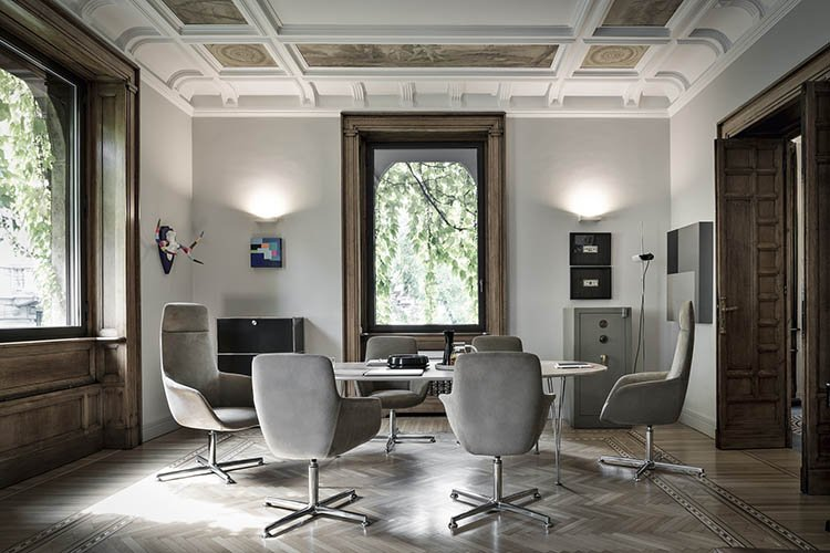 Mea Chair office from Frag, designed by Alessandro Dubini