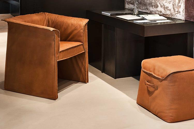 Parentesi Chair lounge from Frag, designed by Giopato and Coombes