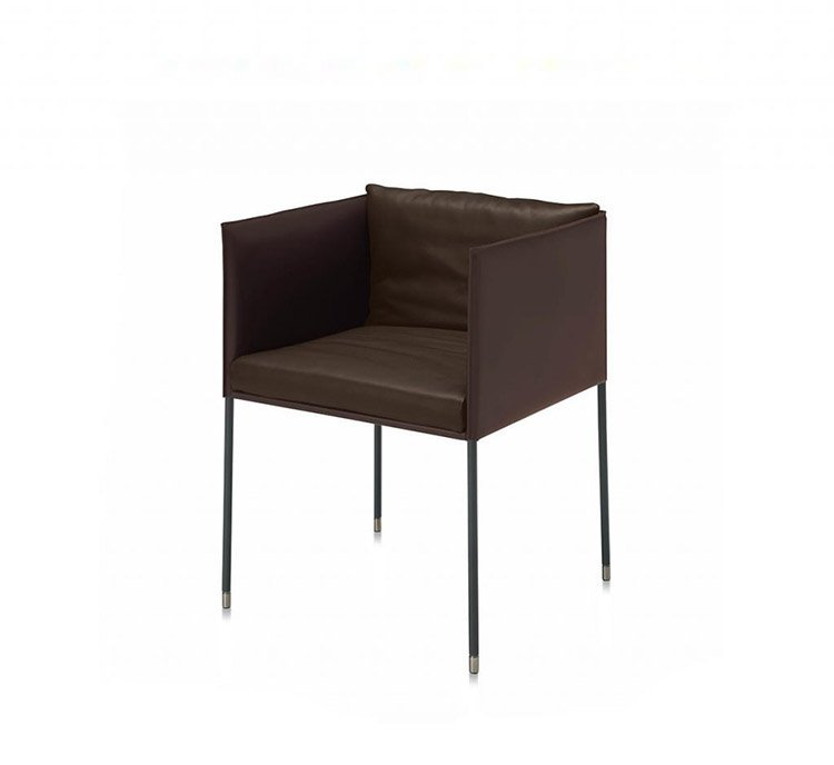 Square Armchair from Frag, designed by Christophe Pillet