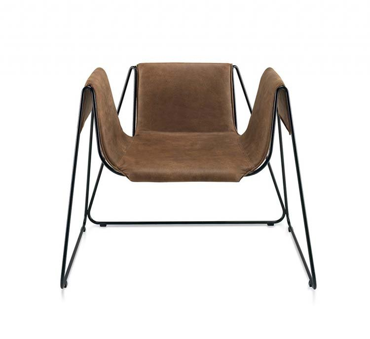 Arche Lounge Chair from Frag, designed by Stefania Andorlini