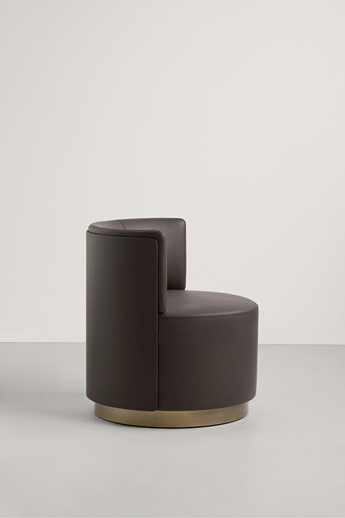 Clubby Lounge Chair from Frag, designed by Christophe Pillet