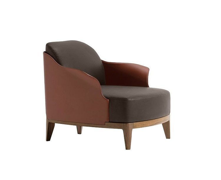 Cocoon L Lounge Chair from Frag, designed by Dainelli Studio