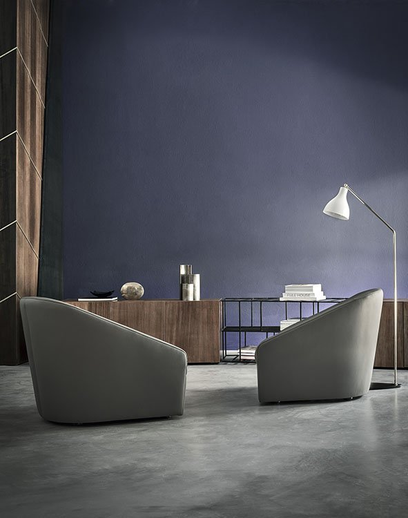 Hollow Lounge Chair from Frag, designed by Christophe Pillet