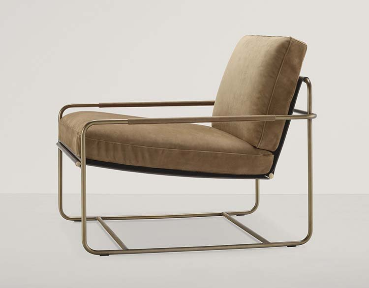 Riviera Lounge Chair from Frag, designed by Dainelli Studio
