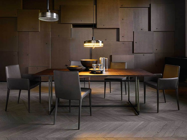 Bak Dining Table from Frag, designed by Ferruccio Laviani