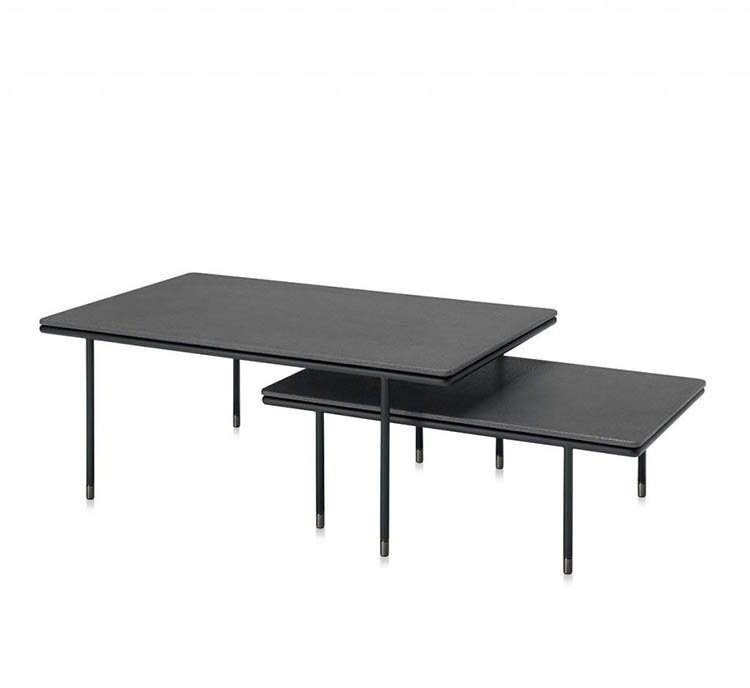 Square 34/24 Coffee Table from Frag, designed by Christophe Pillet
