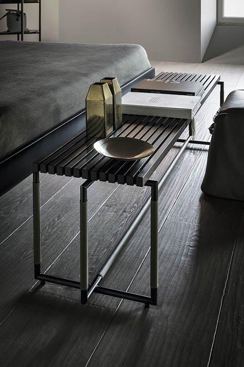 Bak Bench from Frag, designed by Ferruccio Laviani