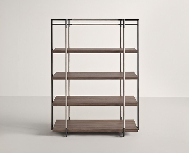 Bak Bookcase from Frag, designed by Ferruccio Laviani