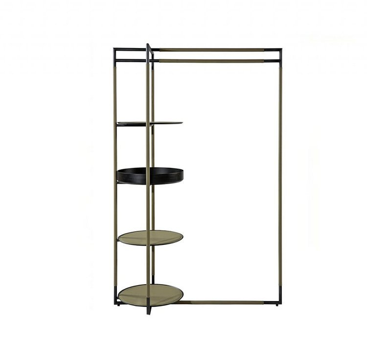 Bak Valet Stand accessory from Frag, designed by Ferruccio Laviani