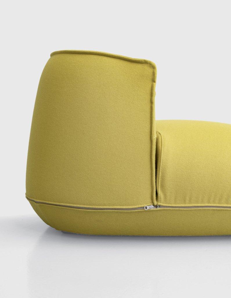 Brioni Lounge Chair from Kristalia, designed by Lucidipevere