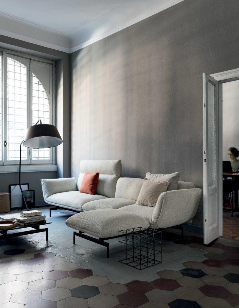 Tenso Sofa from Kristalia, designed by Luca Nichetto