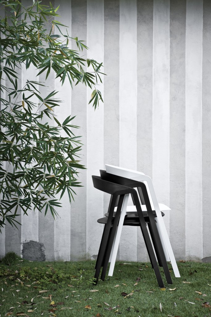 Compas Chair from Kristalia, designed by Patrick Norguet