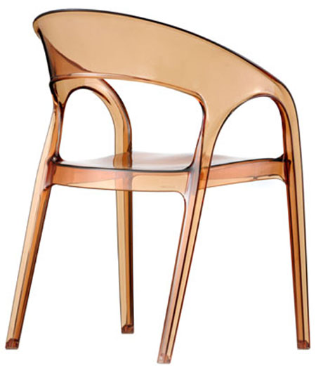 Gossip chair from Pedrali, designed by Dondoli and Pocci