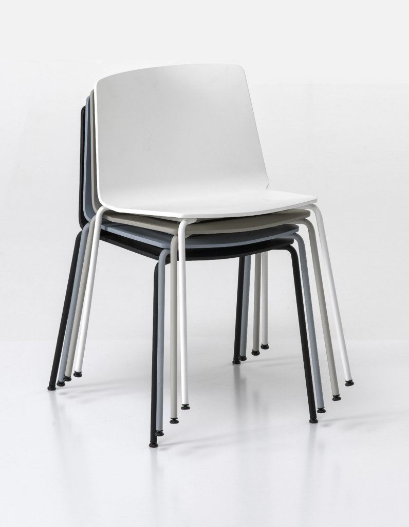 Rama Four Legs Chair from Kristalia, designed by Ramos-Bassols