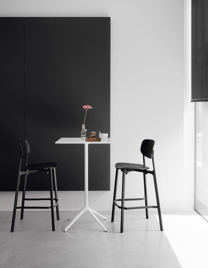 Colander Stool from Kristalia, designed by Patrick Norguet