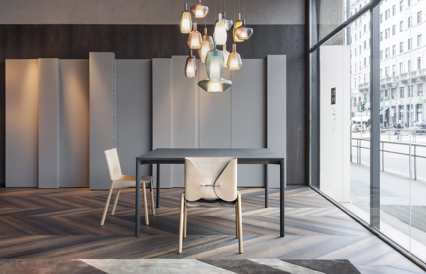 Boiacca Dining Table from Kristalia, designed by Lucidipevere