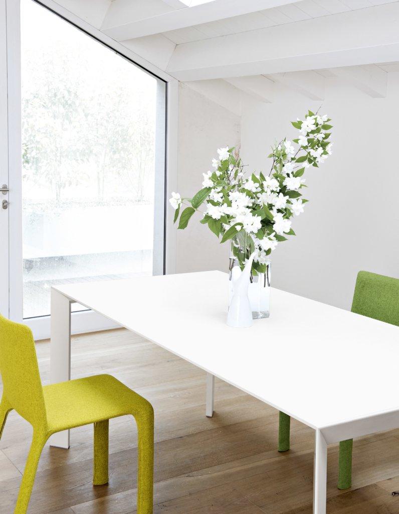 Nori Table conference from Kristalia, designed by Bartoli Design