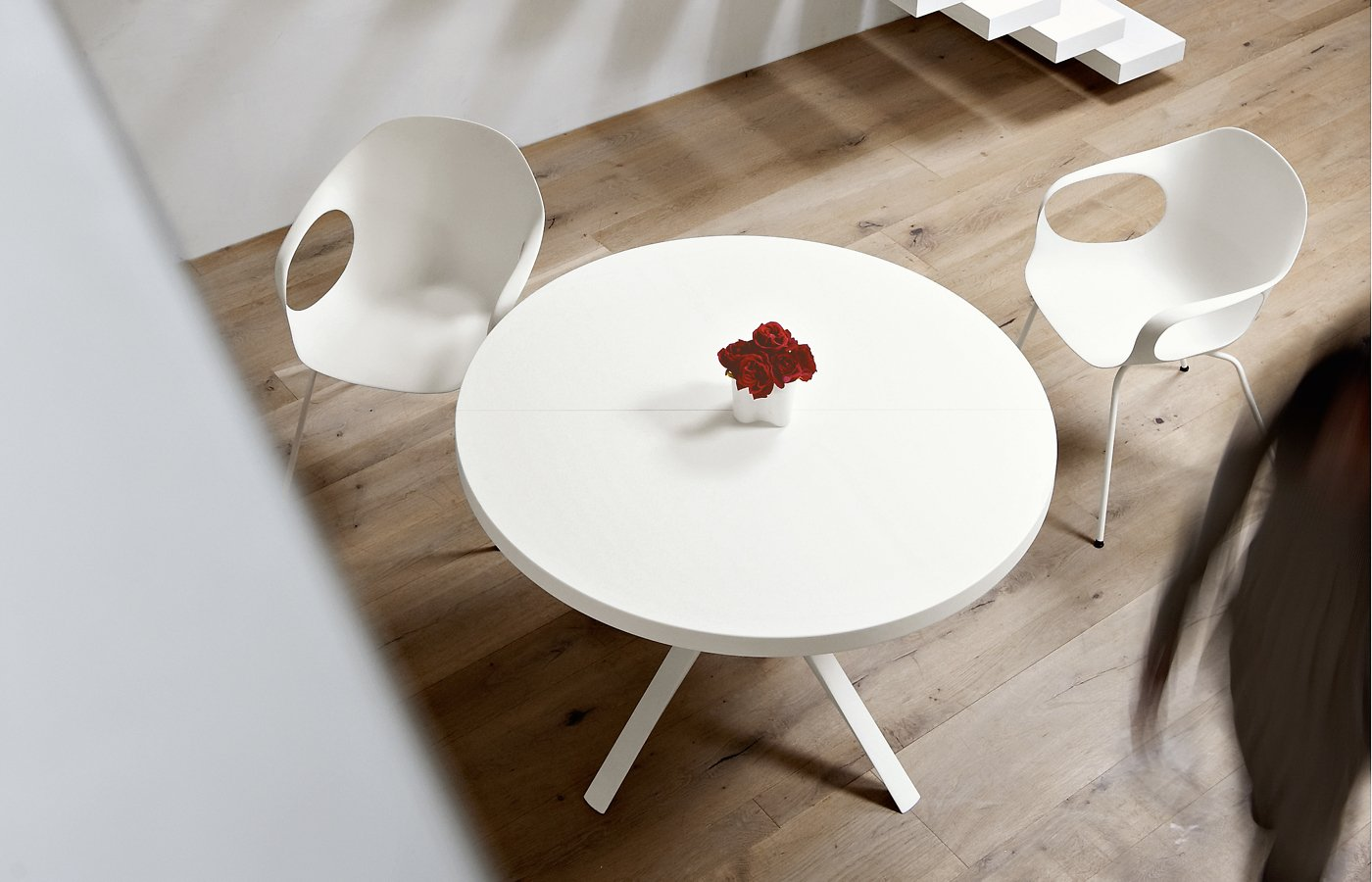 Oops Table dining from Kristalia, designed by Monica Graffeo