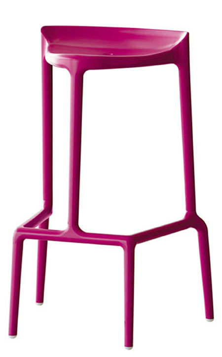 Happy stool from Pedrali, designed by Cristian Gori