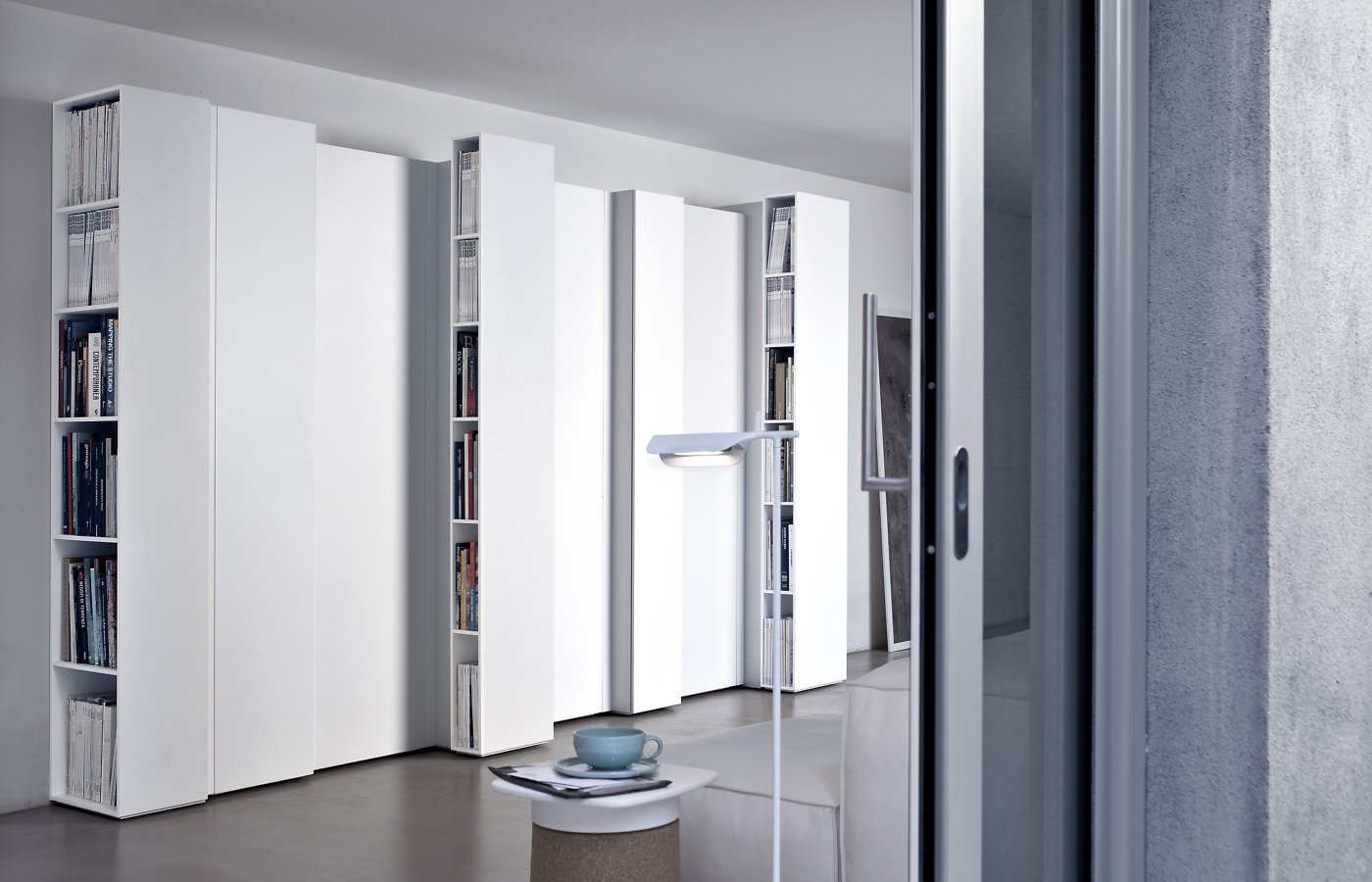 Blio Bookcase from Kristalia, designed by Michael Geldmacher