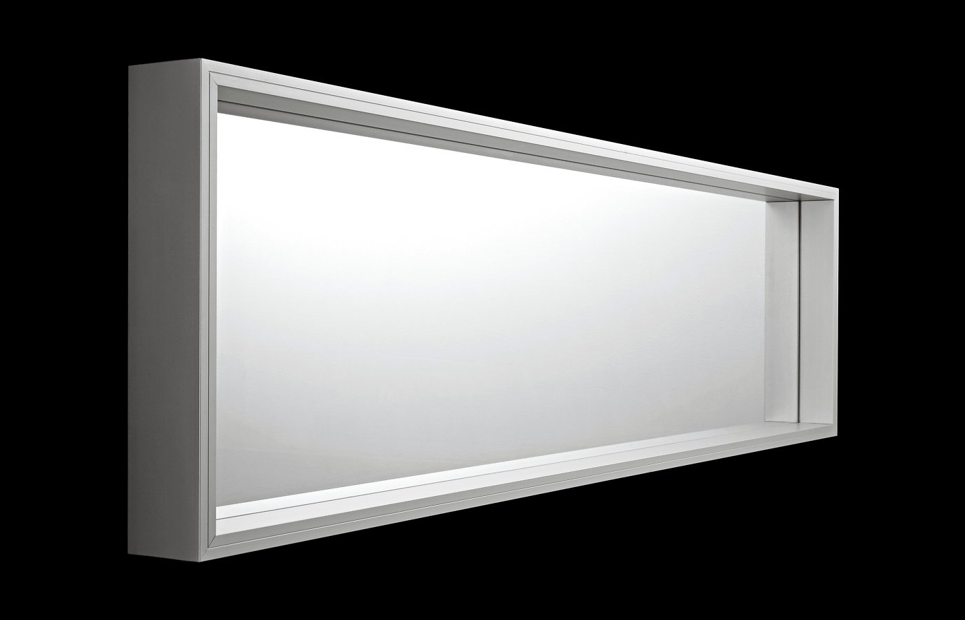 Extra Large Mirror from Kristalia, designed by Luciano Bertoncini