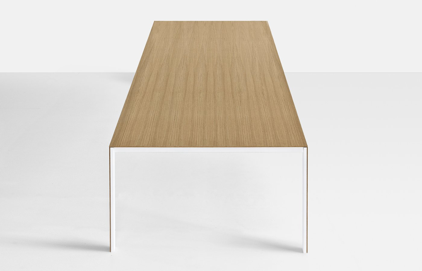 Thin-K Wood Table dining from Kristalia, designed by Luciano Bertoncini