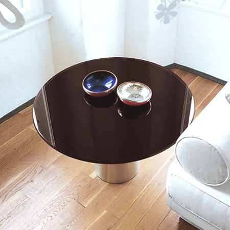 Totem Coffee Round table from Sovet, designed by Lievore Altherr Molina
