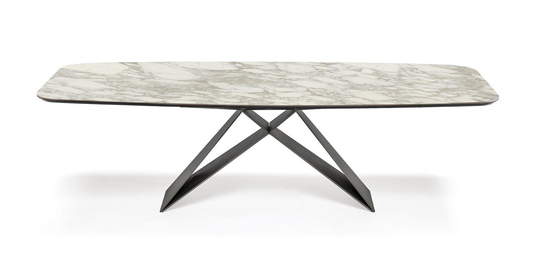 Premier Keramik Dining Table from Cattelan Italia