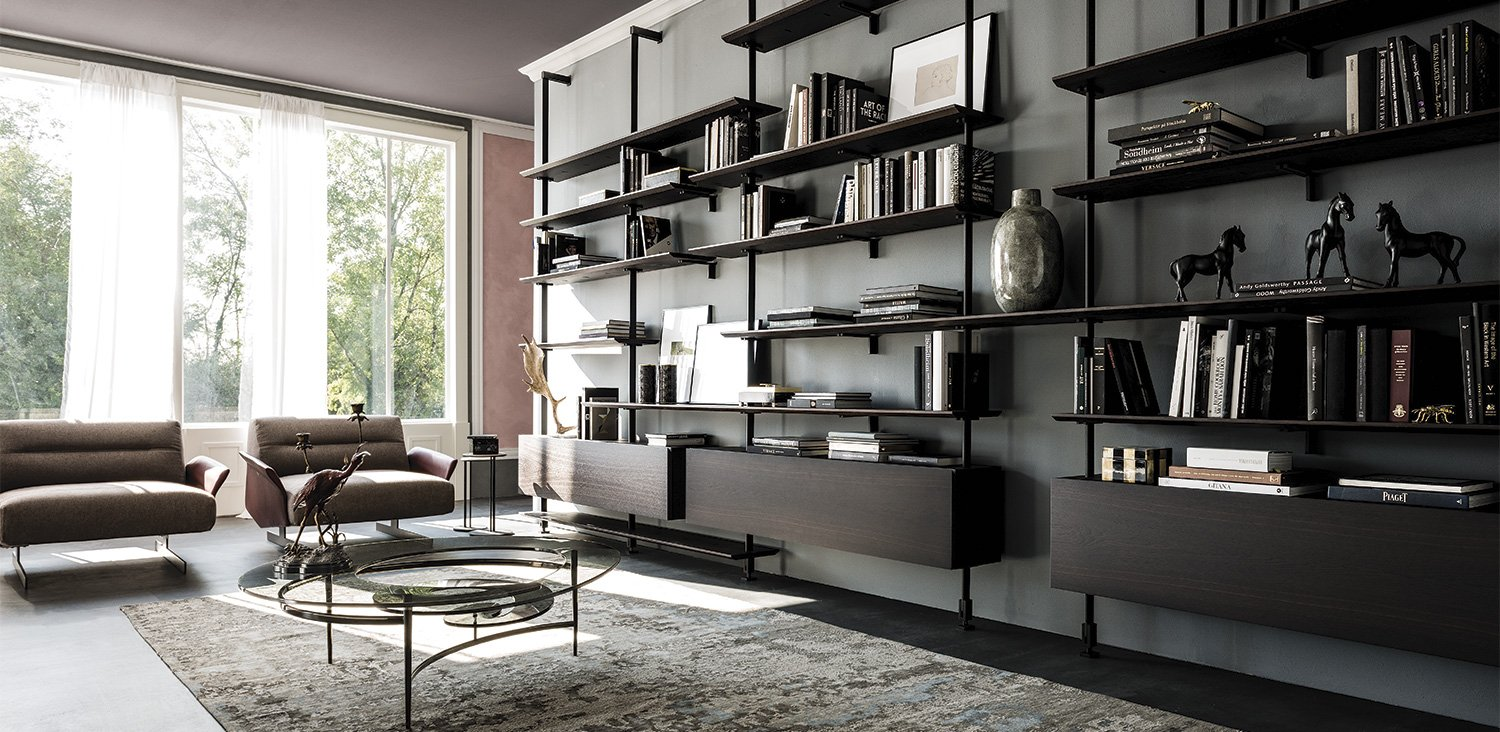 Airport Bookcase from Cattelan Italia, designed by Giorgio Cattelan