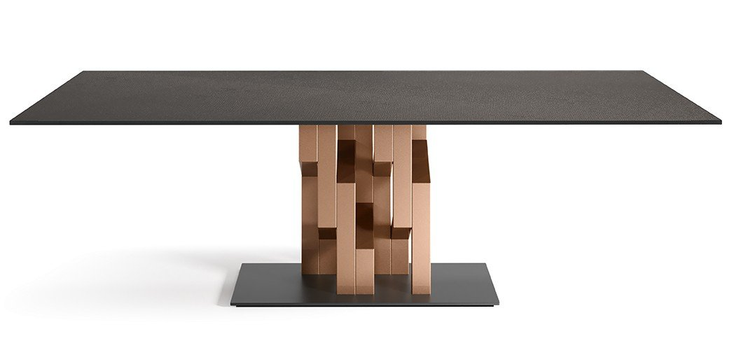 Kighi DiningTable from Fiam, designed by Setsu et Shinobu Ito