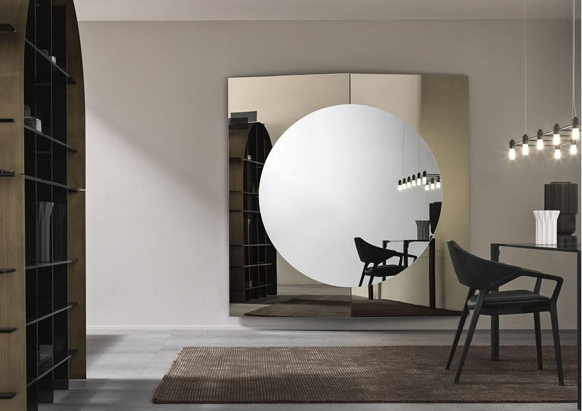 Central Mirror from Tonelli, designed by Francesco Forcellini