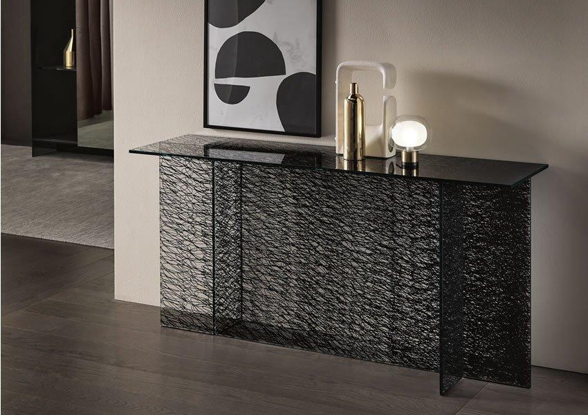 Sestante Console table from Tonelli, designed by Emilio Nanni