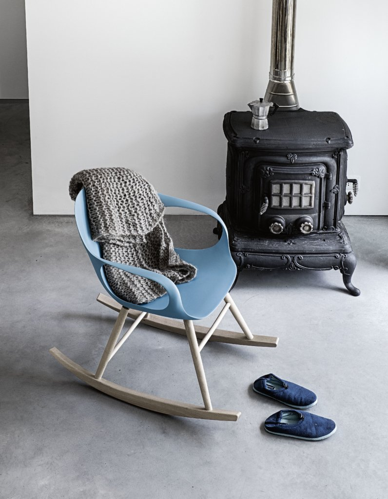 Elephant Rocking Chair lounge from Kristalia, designed by Neuland