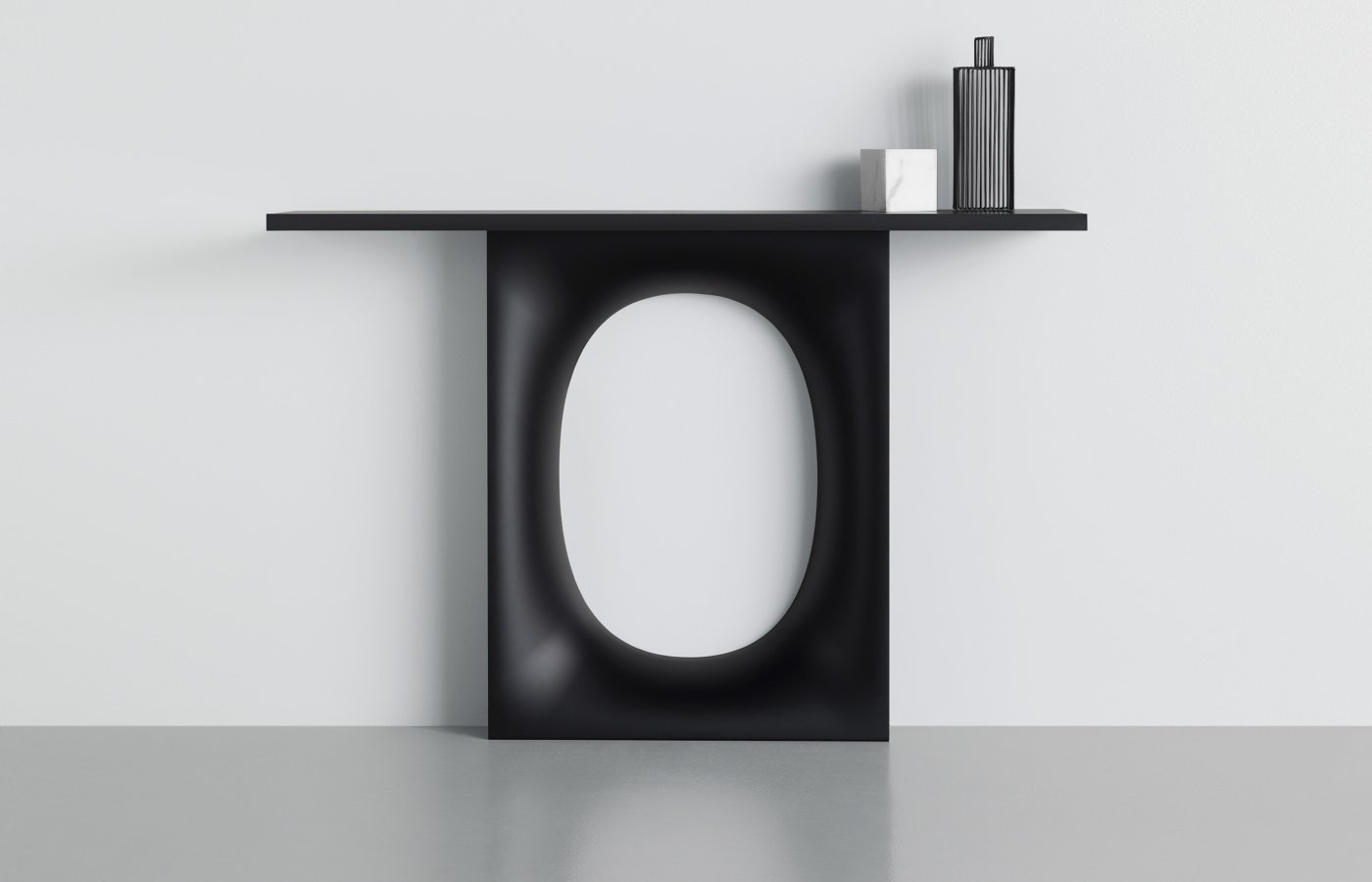 Holo console table from Kristalia, designed by Kensaku Oshiro