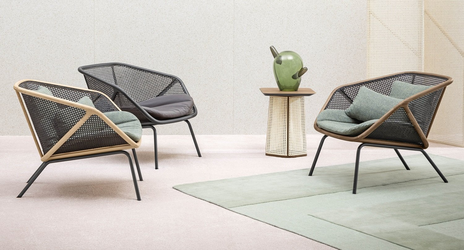 Colony Armchair lounge from Miniforms, designed by Skrivo