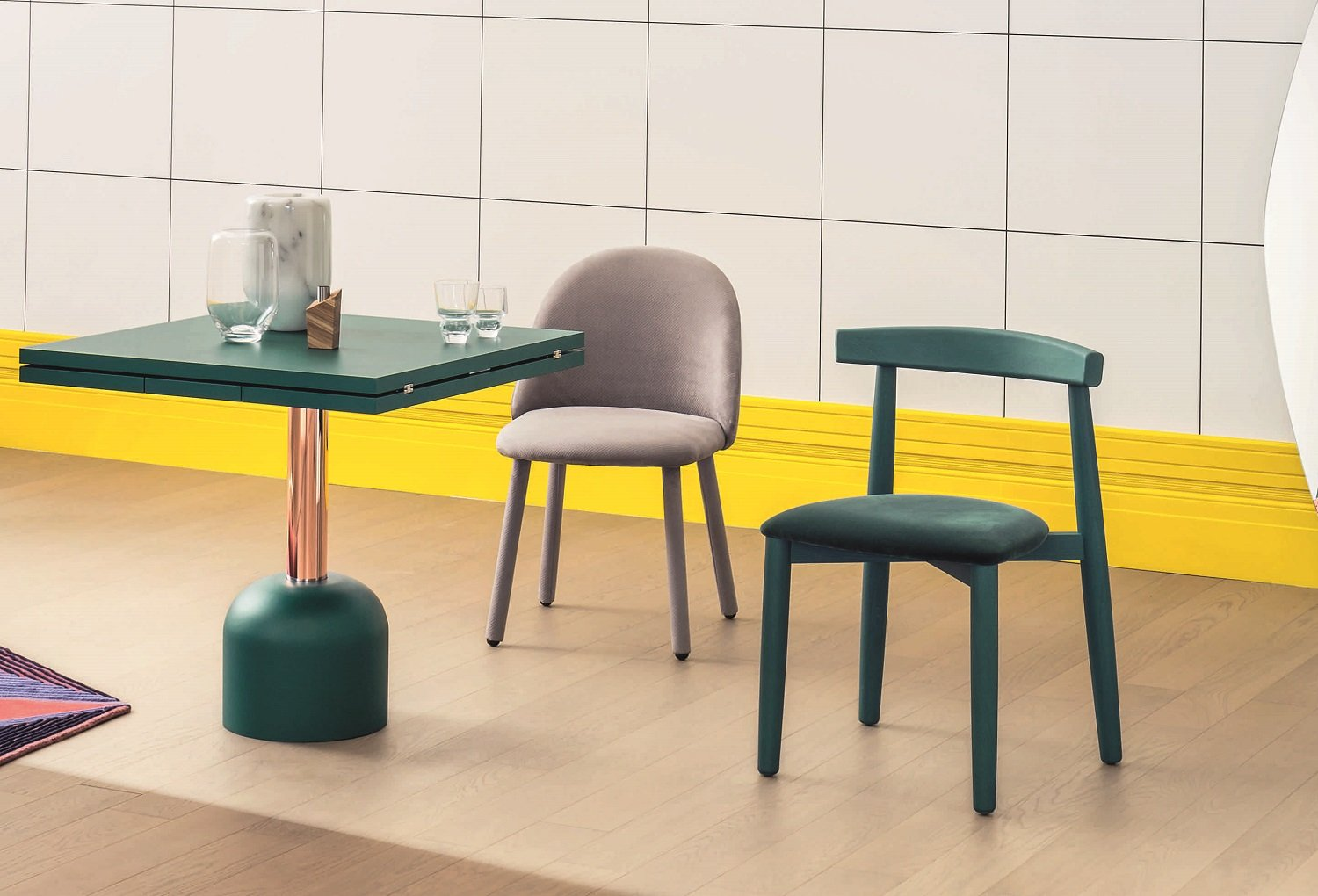 Illo Dining Table from Miniforms