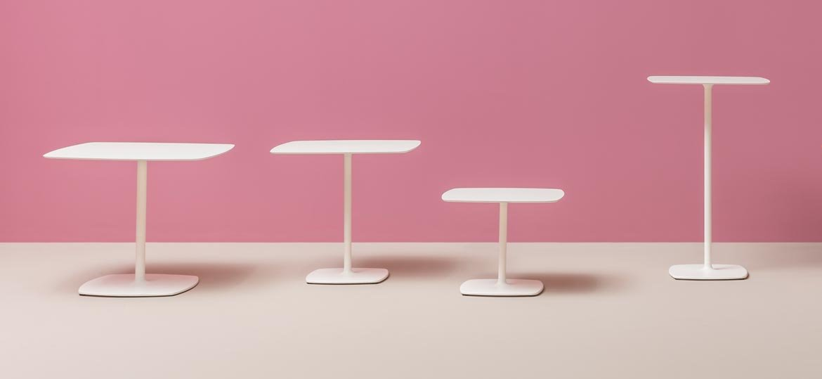 Stylus 5400 Table dining from Pedrali, designed by Pedrali R&D