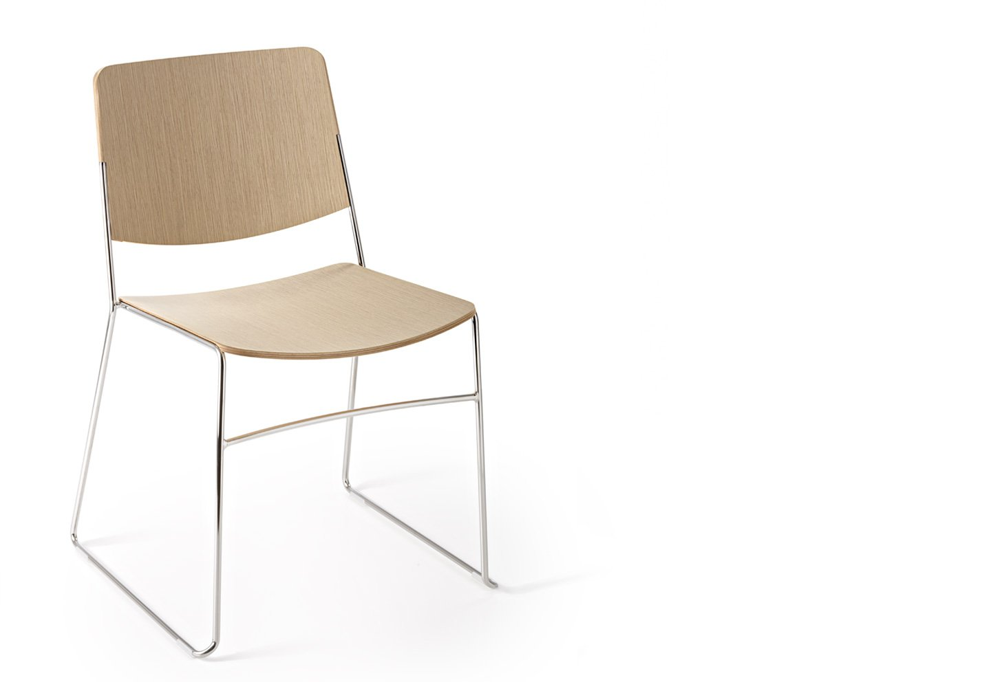 Link Chair from Fornasarig, designed by Luca Fornasarig