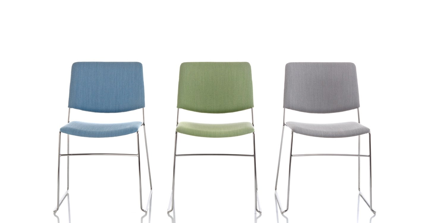 Link F Chair from Fornasarig, designed by Luca Fornasarig