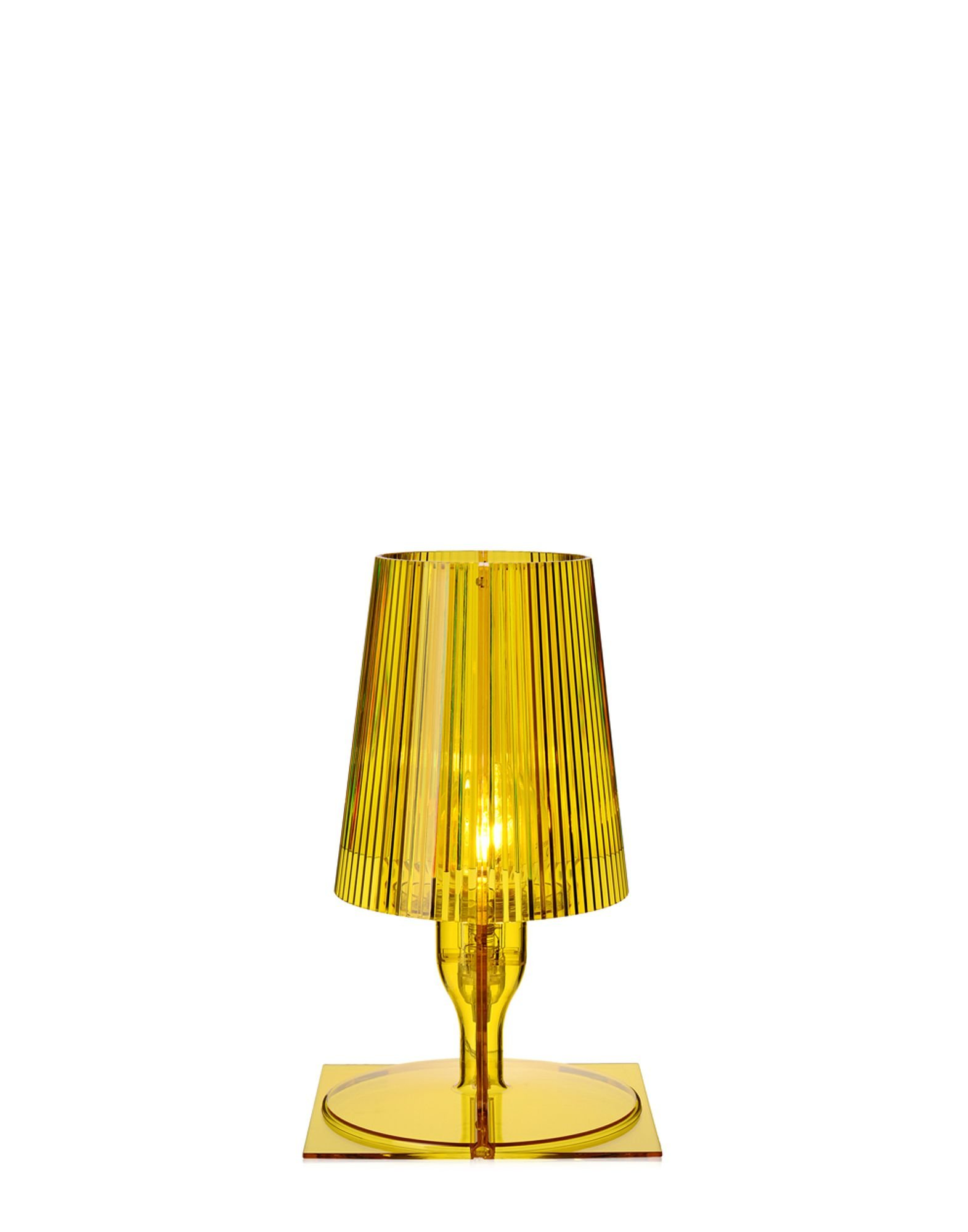 Take Table Lamp lighting from Kartell, designed by Ferruccio Laviani