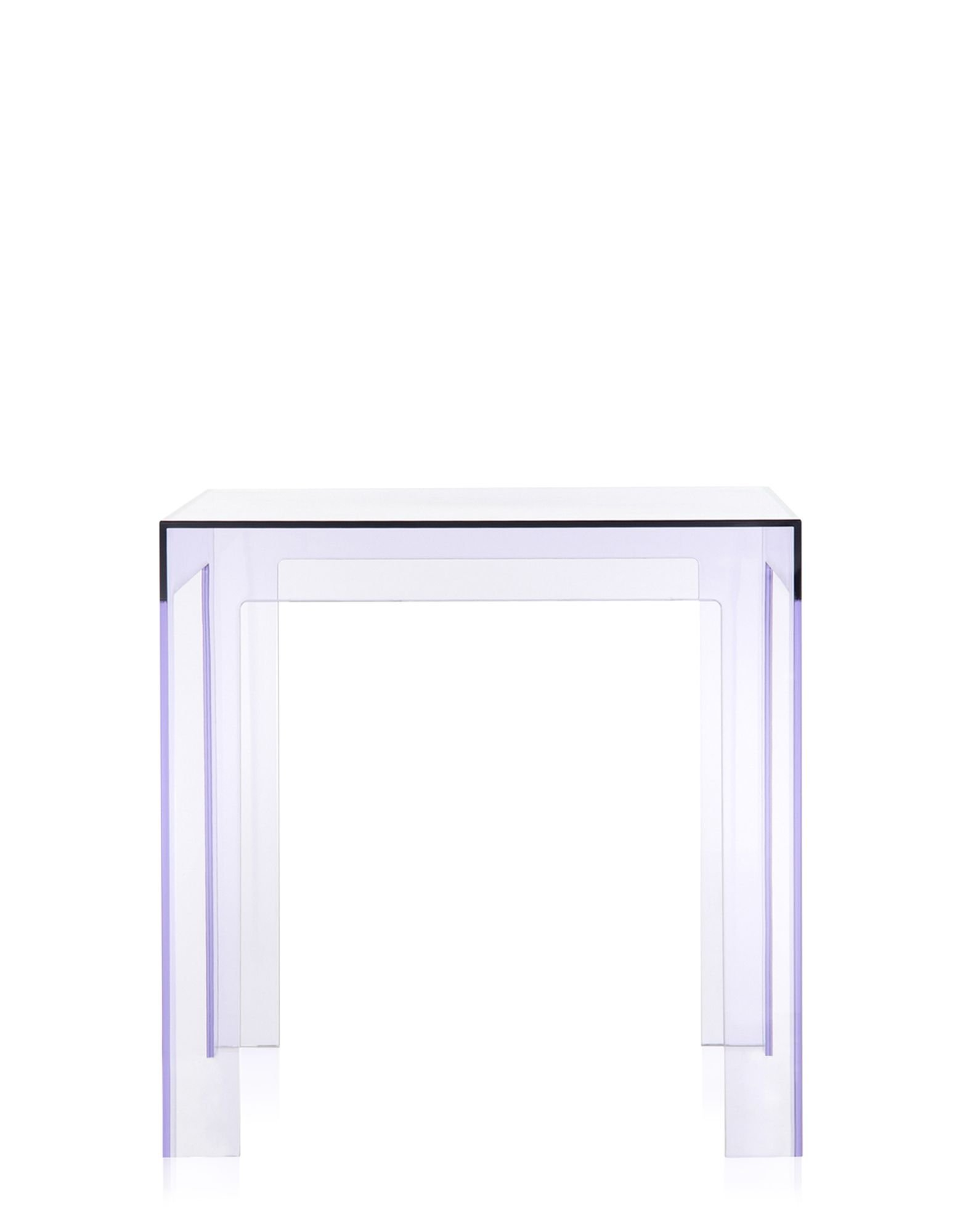 Jolly Side Table end from Kartell, designed by Paolo Rizzatto