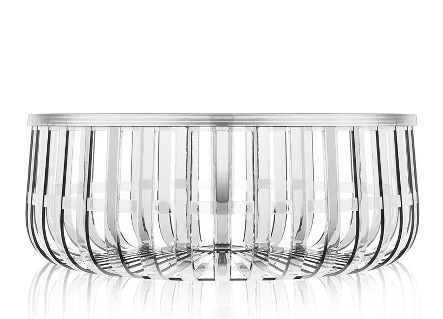 Panier Coffee Table from Kartell, designed by Ronan and Erwan Bouroullec
