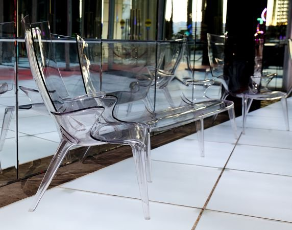 Uncle Jack Sofa from Kartell, designed by Philippe Starck